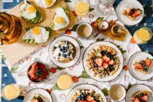 Is it possible that addiction is a state of mind that is driven by desire, want, and accessibility? fruits, eggs, waffles