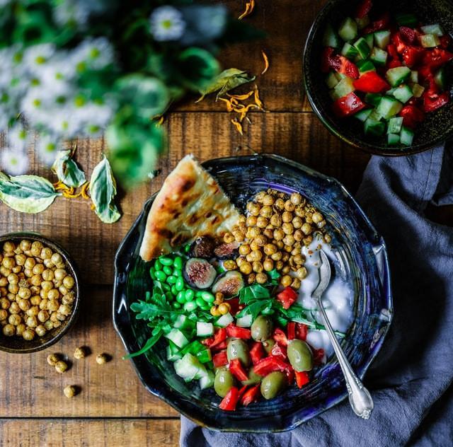 Delicious Chickpeas Salad