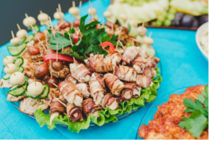how to fight food addiction? - bacon and salad