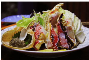 HOW TO FIGHT FOOD ADDICTION? Fish and salad