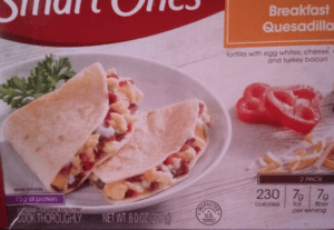 Jenny Craig vs Weight Watchers - Review- breakfast quesadilla