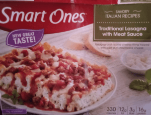 Jenny Craig vs Weight Watchers - Review- lasagna and meat sauce