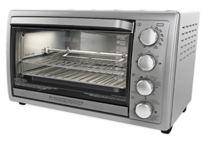Black+Decker TO1313SBD Toaster Oven Review - Stainless Steel feature