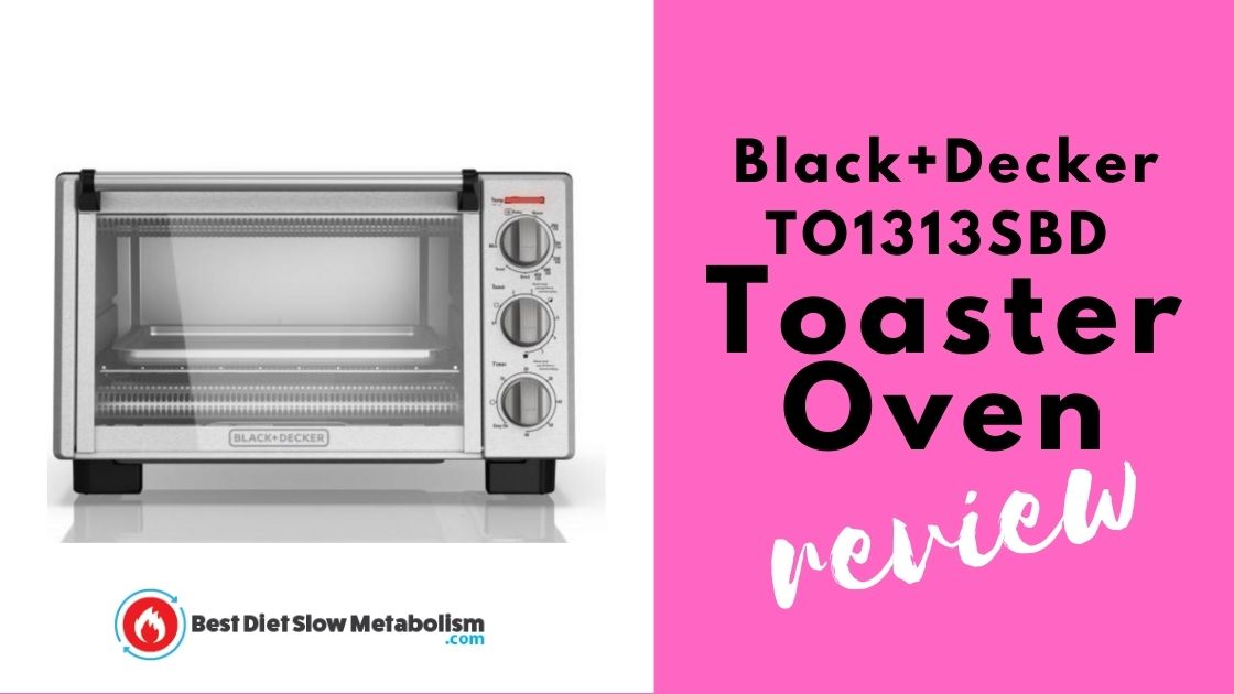 Black+Decker TO1313SBD Toaster Oven Review