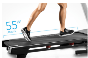 ProForm 905 CST Treadmill Review - Length of Treadmill