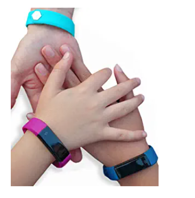 7 Best kids fitness tracker - different color bands for both genders.
