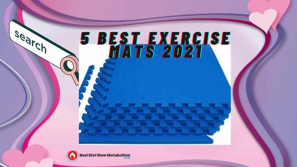Best Exercise Mat-ProsourceFit Puzzle Exercise Mat